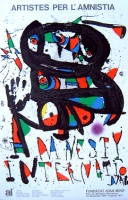Joan Miró: Artistes per L Amnistia, 1976