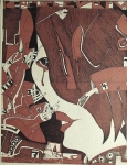 Horst Janssen: 3. Bilderbogen über die Traurigkeit, 1969