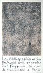 Jean Dubuffet: Galerie Berggruen, 1960