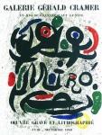 Joan Miró: Galerie Cramer, 1969