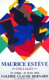 Maurice Estève: Galerie Claude Bernard, 1974