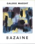 Jean Bazaine: Galerie Maegh, 1957