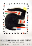 Joan Miró: Merce Cunningham, 1966
