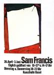 Sam Francis: Kunsthalle Basel, 1968