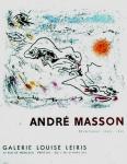 André Masson: Galerie Louis Leiris, 1962