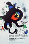 Joan Miró: Musée de l´Athénée, 1973