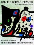 Joan Miró: Galerie Cramer, 1973