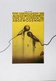 Heinz Edelmann: 7 Plakate zum Thema Ausgewogenheit