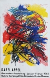 Karel Appel: Galerie der Spiegel, 1962