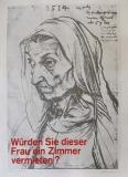 Klaus Staeck: Sozialfall, 1971