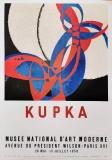 Franti¨ek Kupka: Musée National D Art Moderne, 1958