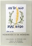 Pablo Picasso: Hommage A Antonio Machado, 1959
