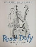 Raoul Dufy: Galerie Louis Carré, 1947